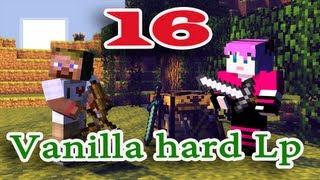 ч.16 Minecraft Vanilla hard Lp - Строим лабораторию