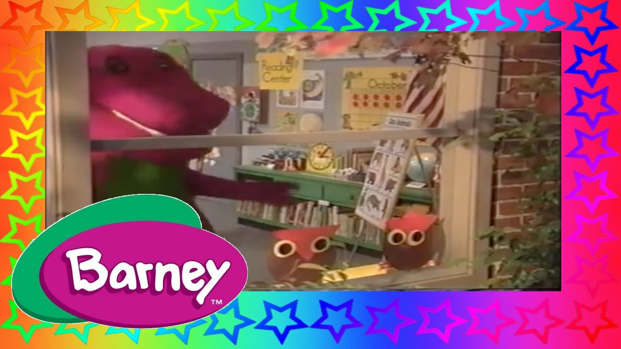 the backyard show barney part 35 opening to barney and fraggle