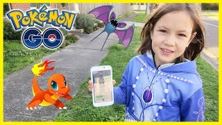 Pokemon Go at Night KIDS PLAY POKEMON GO Pokemon Go Gameplay POKEMON GO LETS PLAY EPISODE 1 KTR-PKM1 Free HD Video