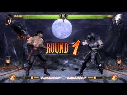 Naruto Shippuden Ultimate Ninja Storm Revolution y Mortal Kombat 9 Ghosty Vs ElHuaso