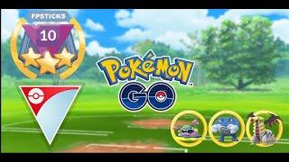 EVERY TEAM HAS A WEAKNESS! RANK 10 GO BATTLE LEAGUE | Pokemon Go PvP Battles