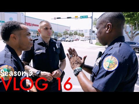 Miami Police VLOG: On Patrol with a F.T.O... Disturbance at the CVS