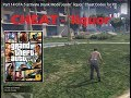 Part 14   GTA 5   activate Drunk Mode , code ' liquor '   Cheat Codes for PC