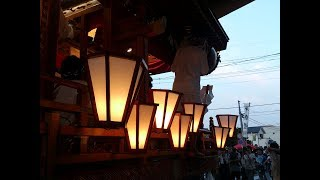 埼玉県熊谷市、新堀大八坂神社例大祭。 Kagohara Natsu Festival @Kumag...
