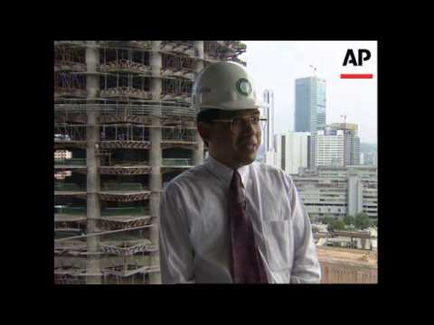 MALAYSIA: KUALA LUMPUR: WORLD'S TALLEST BUILDING IS BEING BUILT