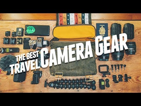 What's In My Camera Bag (2017)
