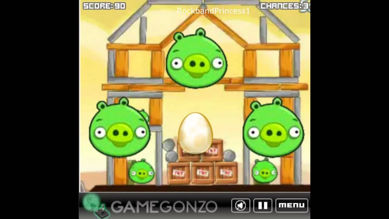 Angry Birds Game - Angry Birds Find The Golden Egg - Free ...