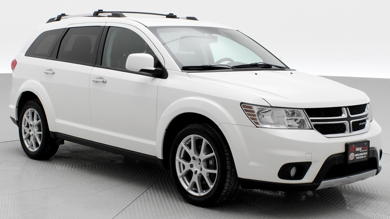 2017 Dodge Journey R T Awd Heated Steering Wheel Ridetime Ca