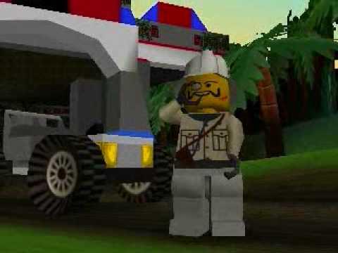 LEGO Racers  Baron Von Barrons Opening  YouTube