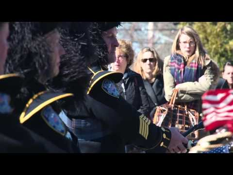 Funeral for Port Authority officer killed in single-car crash