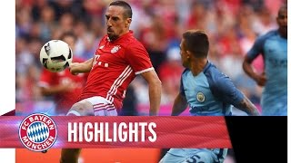Highlights: FC Bayern vs. Manchester City | Testspiel