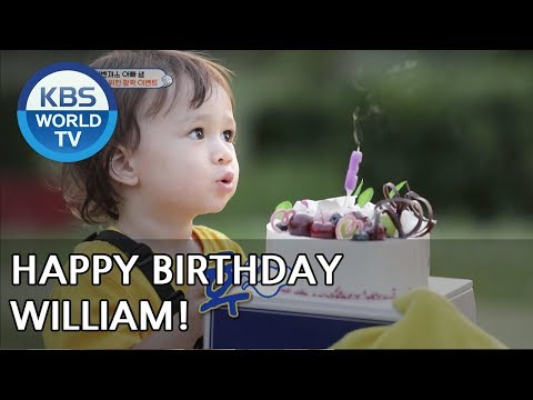 Sam plans a surprise birthday party for William!! [The Return of Superman/2018.07.15]
