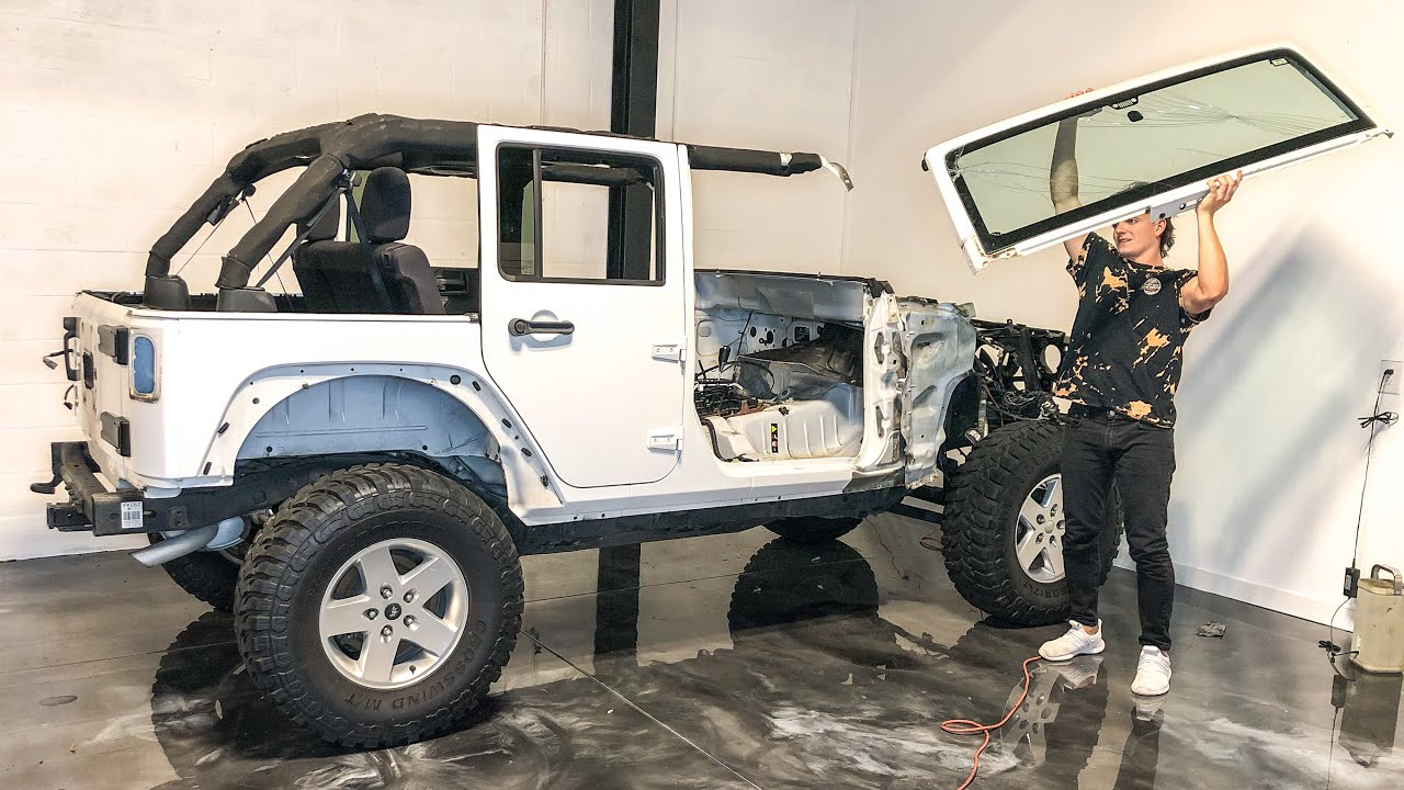 Download Rebuilding a Wrecked Jeep Wrangler Unlimited (Part 1)