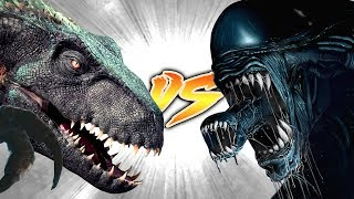 INDORAPTOR VS XENOMORPH [Who Would Win?]