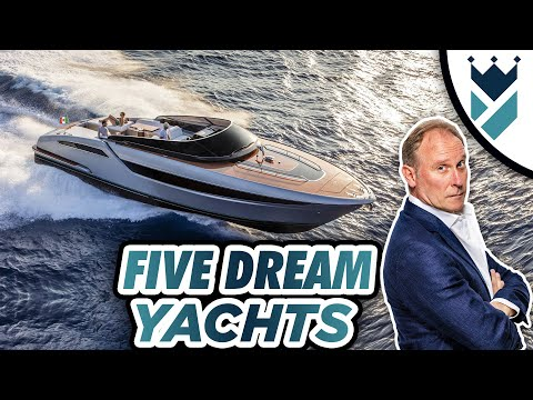 FIVE AMAZING DREAM YACHTS UNDER 50 FEET