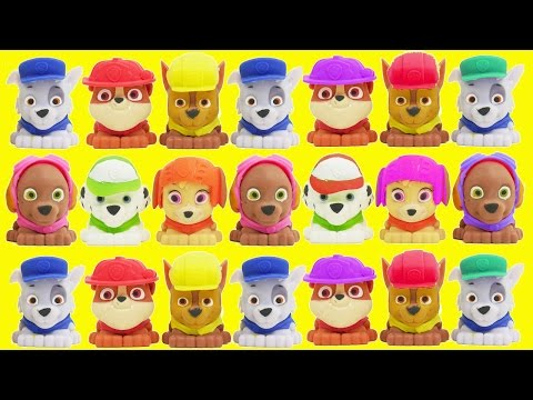 Paw Patrol Skye Flies Toy Learning Colors for Children Barbie Airplane Saves the Day Learn Colours