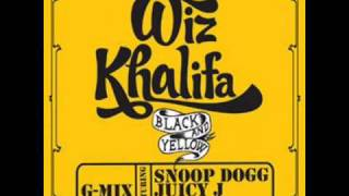 Wiz Khalifa feat. Snoop Dogg, Juicy J & T-Pain -- Black & Yellow (G-Mix)