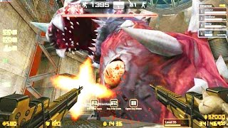 Counter-Strike Nexon: Zombies - Kraken Zombie boss Fight online gameplay on Panic Room map