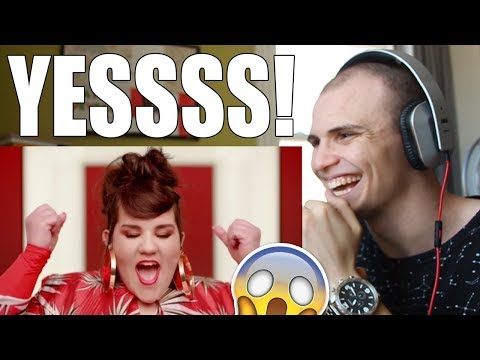Netta - TOY (Israel - Eurovision 2018) REACTION