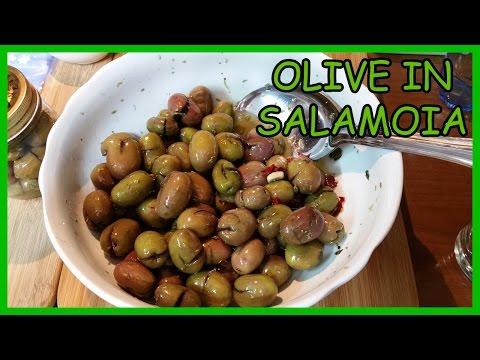 Olive verdi scacciate in salamoia - Le Ricette di Zio Roberto