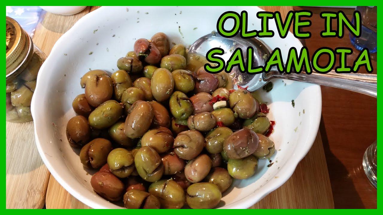 Come si fanno le olive in salamoia | Frantoio San Martino