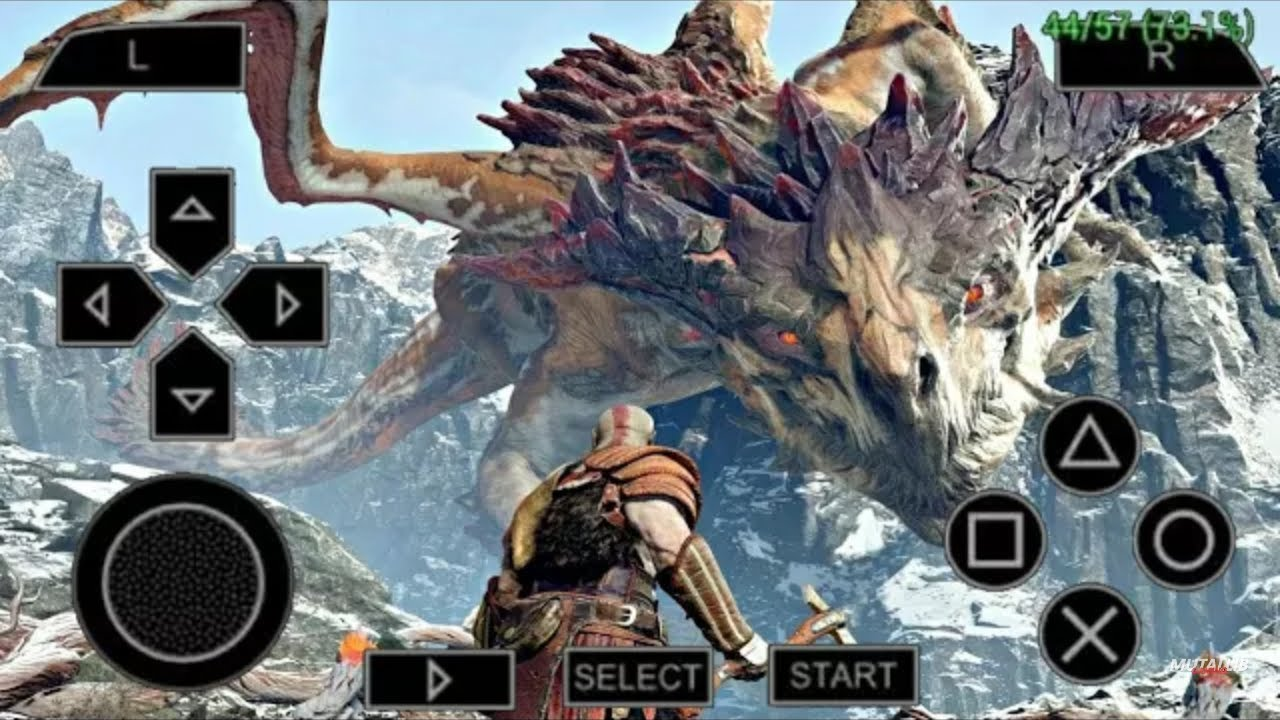 download game ppsspp god of war 4 iso