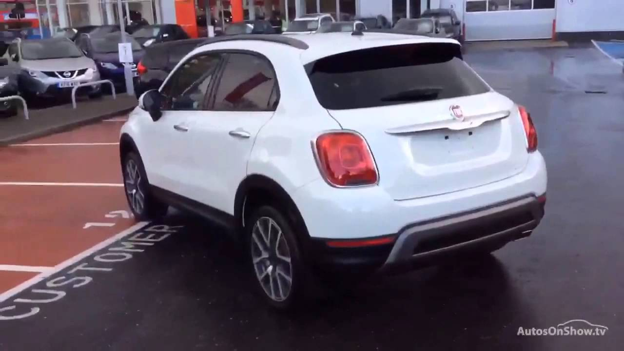fiat 500x multiair cross plus white 2016 youtube. Black Bedroom Furniture Sets. Home Design Ideas