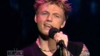 Nick Carter Do I Have To Cry For You Live
