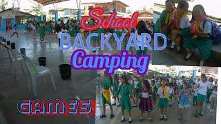 """Girl Scouts School Backyard Camping """"games""""   Mitch Tv"""