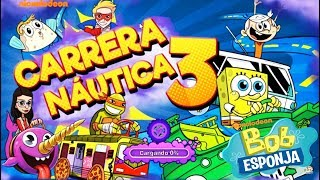 ¡Bob Esponja Carrera Náutica! – Gameplay divertido para niños – SpongeBob game Nickelodeon
