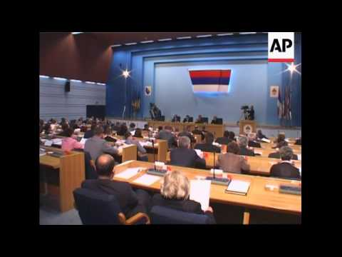 Bosnian Serb PM fears continuing crisis over institutional reforms