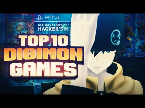Top 10 BEST Digimon Games!