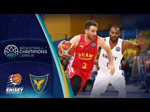 Enisey Krasnoyarsk v UCAM Murcia - Full Game - Basketball Champions League