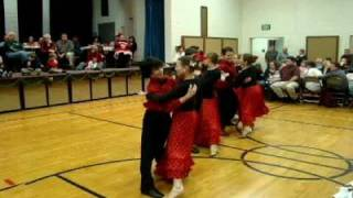 "2009-12.11 ""Christmas Floor Show"" Performed by Davis County Ballroom (DCB) -- Part 2 of 2"
