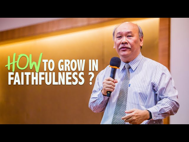 James: How to grow in faithfulness?