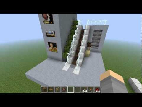 Minecraft Redstone Escalator