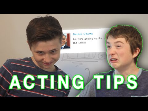 How to become an actor?
