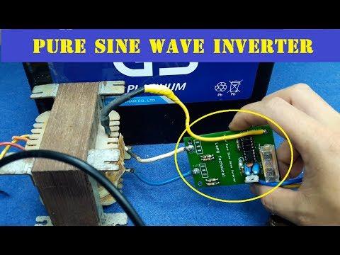 100W Pure Sine Wave Inverter | Oscilloscope Test