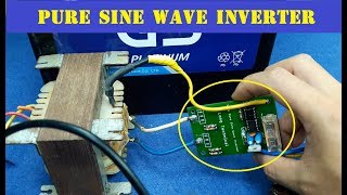 100W Pure Sine Wave Inverter | Oscilloscope Test