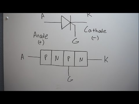 Basic Electronic Components - The Thyristor (SCR)
