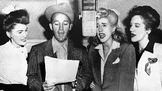 bing crosby the andrews sisters ac cent tchu ate the positive 1945