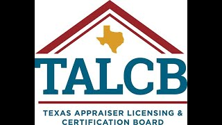 Texas Appraiser Licensing and Certification Board TALCB Meeting 02 26 2021