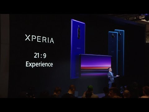 Official Sony Press Conference – Sony MWC 2019