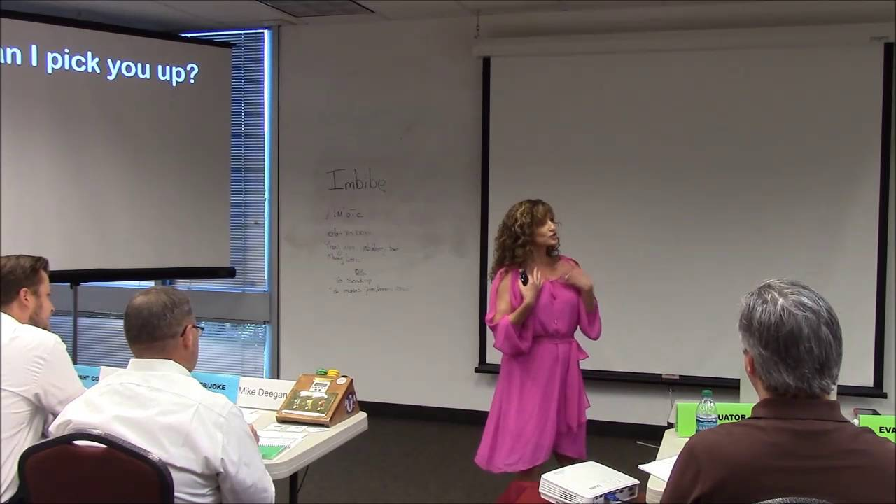 How to write a humorous speech toastmasters