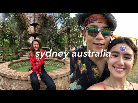 AUSSIE WITH MY BB AND LOST PARADISE FESTIVAL hipster af omg #saffvlogs | Saffron Sharpe