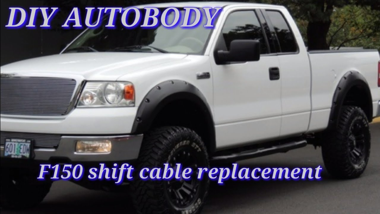 maxresdefault how to replace shifter cable in a 2004 f150! diy autobody, linkage