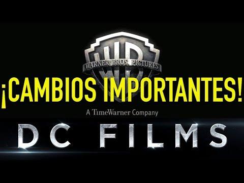 ¡BREAKING NEWS! CAMBIOS IMPORTANTES EN LAS DC FILMS