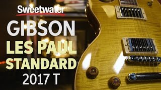 gibson les paul standard 2017 t electric guitar review
