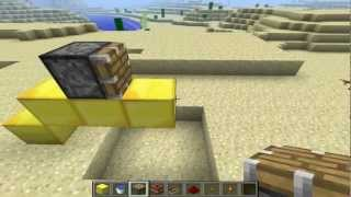 Minecraft - Como fazer um lançador de TNT!