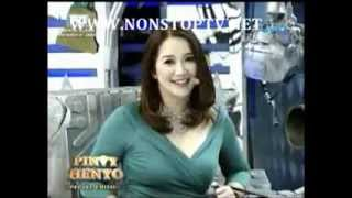 Kris Aquino plays Pinoy Henyo with Vic Sotto